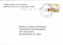 30738. Carta WAROOKA (South Australia) 1983 To Melbourne - 1980-89 Elizabeth II