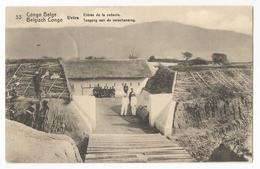 Belgisch Congo Belge Uvira Entrée De La Redoute Carte Postale Ancienne EP Oude Postkaart - Belgian Congo - Other