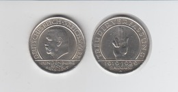 Silbermünze Weimar Hindenburg 3 Reichsmark 1929 A Jäger Nr. 340/2 - Münzen