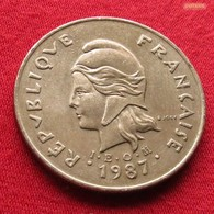 New Caledonia 100 Francs 1987 KM# 15 Nouvelle Caledonie - Nouvelle-Calédonie