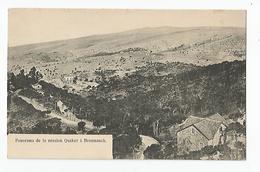 Liban -beyrouth  Panorama De La Mission Quaker A Broumanah - Libanon