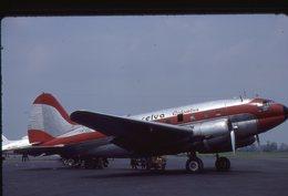 SLIDE / AVION / AIRCRAFT   KODAK  ORIGINAL   SELVA COLOMBIA  C 46  HK-851 - Diapositives