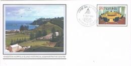 30739. Carta Entero Postal NORFOLK Island 1981. Kingston Administrative Center - Isla Norfolk