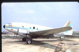 SLIDE / AVION / AIRCRAFT   KODAK  ORIGINAL   INTERCONTINENTAL COLOMBIA  C 46  HK-812 - Diapositives