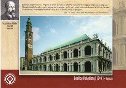 Vicenza 2008 - Vicenza Numismatica - Premio Internazionale Vicenza Palladio - - Borse E Saloni Del Collezionismo
