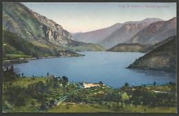 Italy-----Lago Di Ledro-----old Postcard - Trento