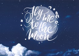 AK Düsseldorf 2018 Peek & Cloppenburg Mond Hy Me To The Moon - Werbepostkarten