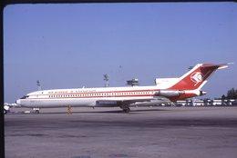 SLIDE / AVION / AIRCRAFT   KODAK  ORIGINAL   AIR ALGERIE  B 727  7T-VEU - Diapositives