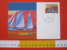 A.03 ITALIA ANNULLO - 2002 IMPERIA LIGURIA FDC RADUNO VELE D' EPOCA MAXIMUM - Vela