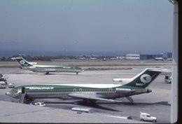 SLIDE / AVION / AIRCRAFT   KODAK  ORIGINAL   IRAQI AIRWAYS  B 727  YI-AGS - Diapositives