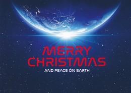 AK Düsseldorf 2018 Peek & Cloppenburg Merry Christmas And Peace On Earth Weihnachten - Werbepostkarten
