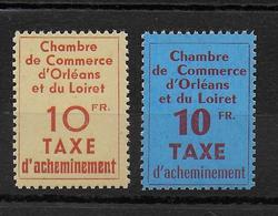 GREVE ORLEANS - 1953 - YVERT N°2/3 ** MNH - SIGNES BRUN - COTE = 650 EUR. - - Strike Stamps
