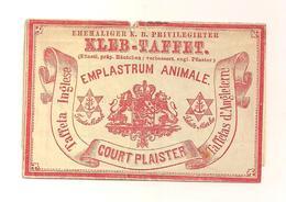 Alte Reklame Für Wundpflaster - Autres