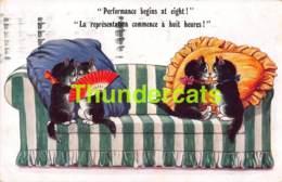CPA ILLUSTRATEUR LOUIS WAIN CHAT CHATS ARTIST SIGNED LOUIS WAIN CAT CATS - Wain, Louis