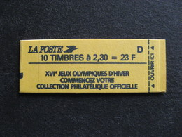 TB Carnet 2614 - C6A,  Neuf XX. - Booklets