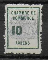 "GREVE AMIENS - 1909 - YVERT N°1a VARIETE SANS LE ""C"" ** MNH - SIGNE BRUN - COTE = 100 EUR. - - Strike Stamps"