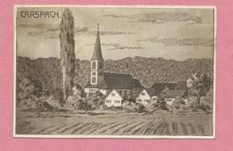 68 - CARSPACH - Carte Illustrée Signée F. JANTON  - Feldpost - Guerre 14/18 - Voir état - Non Classés