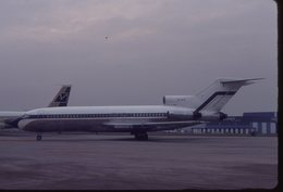 SLIDE / AVION / AIRCRAFT   KODAK  ORIGINAL  B 727 VIP  EL-AIZ - Diapositives