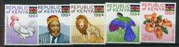 Kenia ** N°  15 à 19 - Proclamation De La République - Kenya (1963-...)