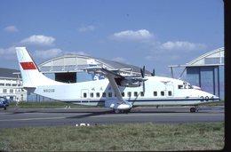 SLIDE / AVION / AIRCRAFT   KODAK  ORIGINAL  CAAC  SHORT 360  N912SB - Diapositives