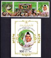 1.10.1979; La Livre Vert Et Gadhaffi; YT 799 - 801 + BF 31, Neuf **, Lot 50786 - Libye