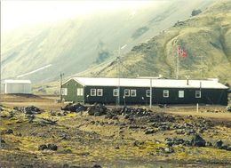 2 AK Island Jan Mayen * Die Meterologische Station Und Eggoya - Insel Im Nordatlantik - Zu Norwegen * - Norwegen