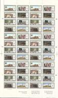 1986 SAUDI ARABIA Hajj Complete Full Sheet 6 Sets 8 Values MNH - Arabie Saoudite