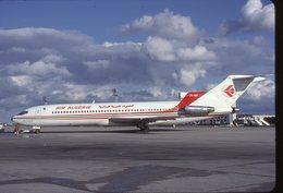 SLIDE / AVION / AIRCRAFT   KODAK  ORIGINAL  AIR ALGERIE  B 727   7T-VEP - Diapositives
