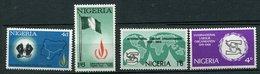 Nigéria  **  N° 217/218 - 232/233 - Droits De L' Homme - O.I. T - - Nigeria (1961-...)