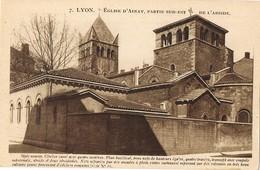 30744.  Postal LYON (Rhone). Eglise D'AINAY, Soud Est Et Abside. Romanique - Lyon