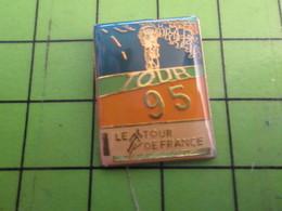 717 Pins Pin's / Rare & De Belle Qualité  THEME : SPORTS / CYCLISME TOUR DE FRANCE 1995 - Cycling