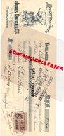 31- TOULOUSE- RARE MANDAT TRAITE BERNES MORERE-MERCERIE BONNETERIE CHAUSSURES-32 RUE DES PARADOUX-1903 - Petits Métiers