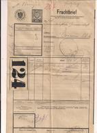 Frachtbrief - 21.12.1921 Von Wien Nach Goisern Mit Eingedruckten Stempel 30h - Autres Collections