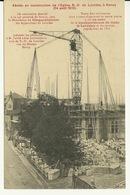 54 - NANCY / ABSIDE EN CONSTRUCTION DE L'EGLISE NOTRE DAME LOURDES - Nancy