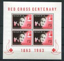 Nigéria ** Bloc 2 - Croix Rouge - Nigeria (1961-...)