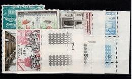 Monaco YV 526 à 531N** Musee Oceanographique Dont 526 Et 531 Petits Coins Datés Cote 11 Euros - Monaco