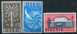 Nigéria ** N° 134 à 136 - Conf. Du Commonwealth - Nigeria (1961-...)