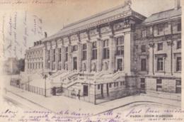 Paris Cour D'Assises Circulée En 1900 !!! - Andere Monumenten, Gebouwen