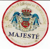 """Et. Camembert De Normandie """" MAJESTE """" Messel Orne - Fromage"""