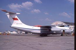 SLIDE / AVION / AIRCRAFT   KODAK  ORIGINAL   AEROFLOT  IL 76   CCCP 78779 - Diapositives