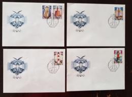RUSSIE, Phare, Phares, Faro, Lighthouse. Yvert N° 5030/34 Fdc, Enveloppes 1er Jour. - Vuurtorens