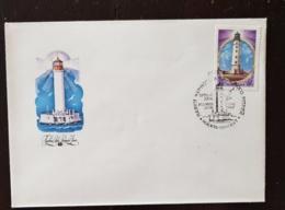 RUSSIE, Phare, Phares, Faro, Lighthouse. Yvert N° 4968 Fdc, Enveloppe 1er Jour. - Vuurtorens