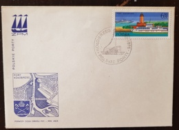 POLOGNE, Phare, Phares, Faro, Lighthouse. Bateau, Boat. 1 Valeur FDC Enveloppe 1 Er Jour - Vuurtorens