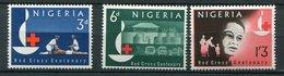 Nigéria ** N° 143 à 145 - Croix Rouge - Nigeria (1961-...)