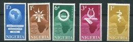 Nigéria ** N° 119 à 123 - Conf. à Lagos - Nigeria (1961-...)