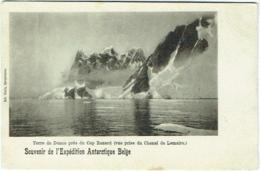 Souvenir De L'Expédition Antartique Belge. Terre De Danco Près Du Cap Renard. - Missions
