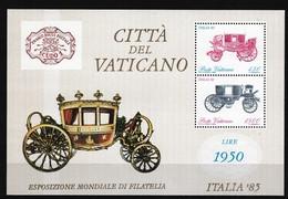 Vatikaan 1985 Blok Nr 8 **, Zeer Mooi Lot K891 - Timbres