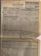 Frachtbrief - 12.7.1932 Von Goisern Nach Laakirchen - Autres Collections