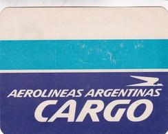AEROLINEAS ARGENTINAS STICKER PEGATINA AIRPLANE'S COMPANY CIRCA 1975's- BLEUP - Vieux Papiers