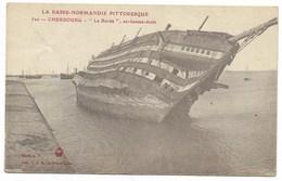 50-CHERBOURG-Epave De L'ex Bâteau-Ecole LE BORDA... 1918 - Cherbourg